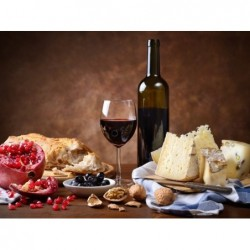 Wine and Cheese in...